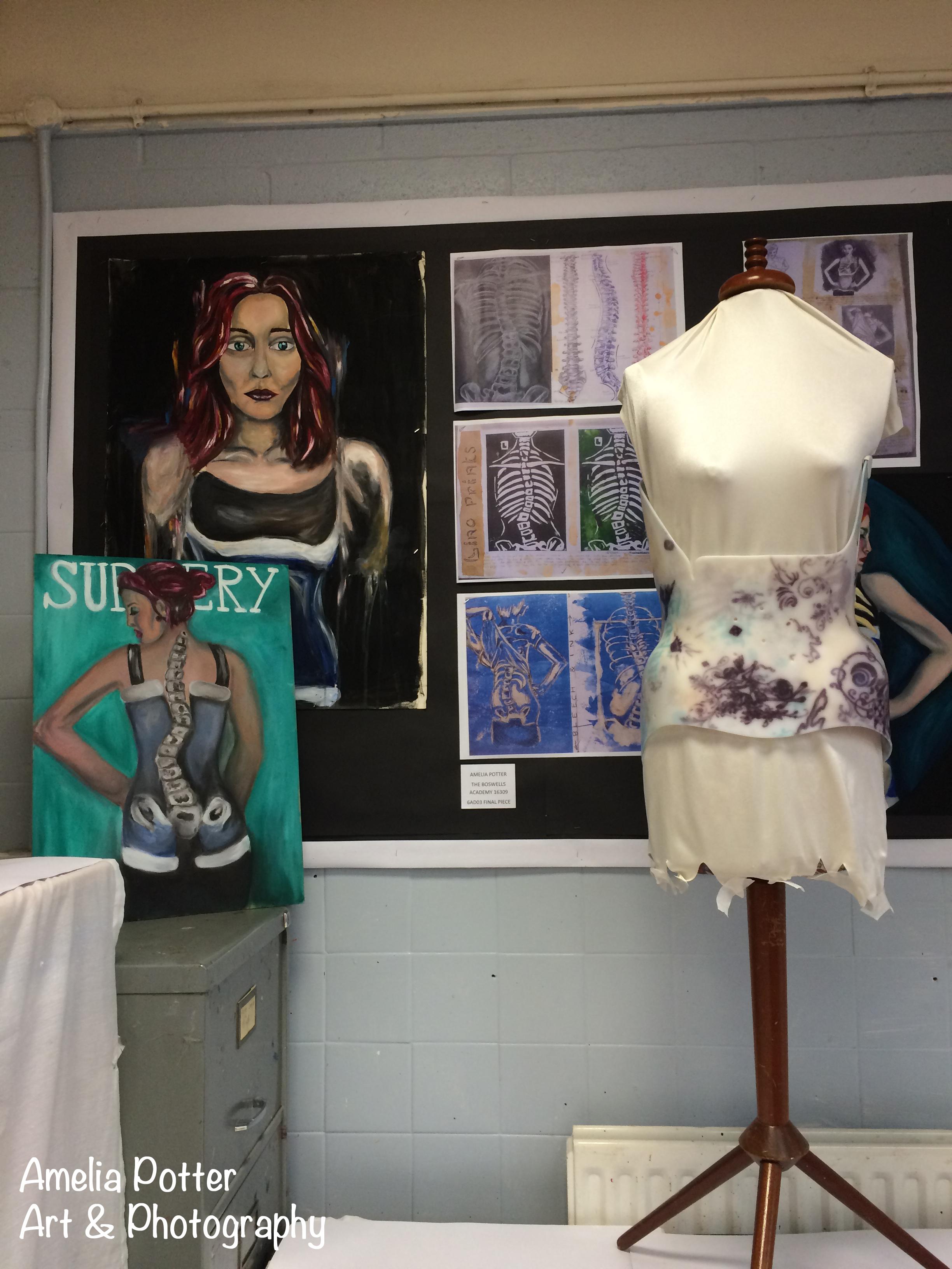 Final exhibition Boswells School