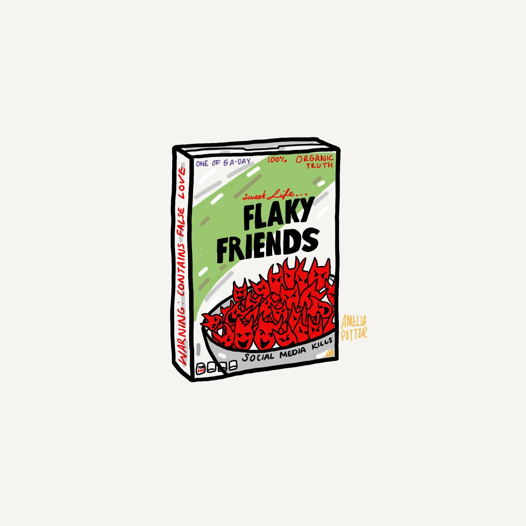 FLAKY FRIENDS CERIAL KILLER