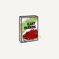 FLAKY FRIENDS CERIAL KILLER