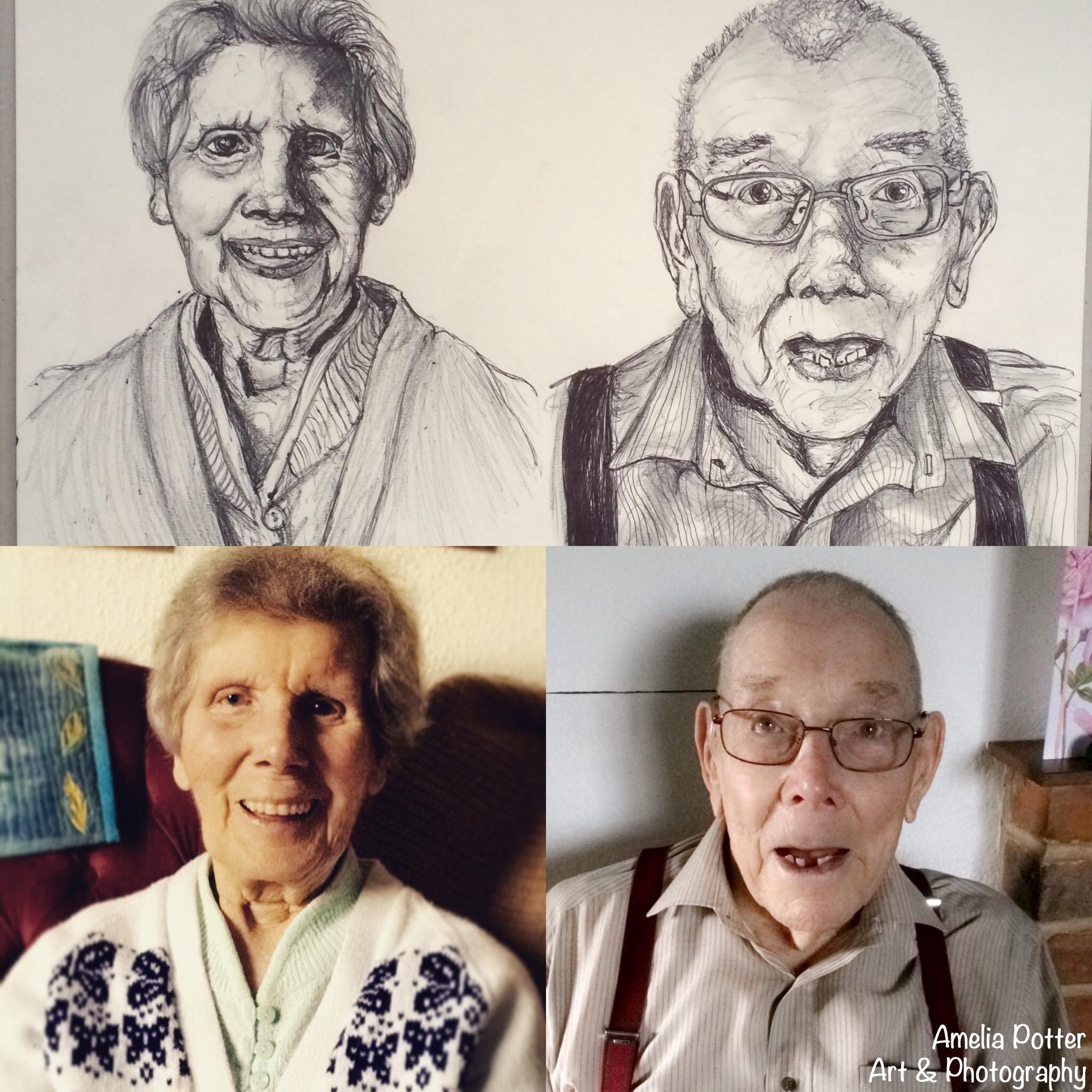 Great Nan and  Great Grandad