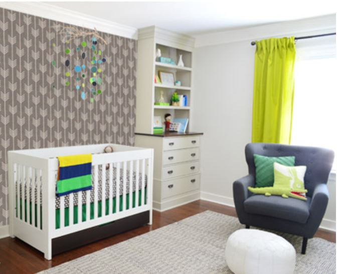 Teddy's nursery from Younghouselove