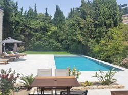 Terrasse deluxe piscine
