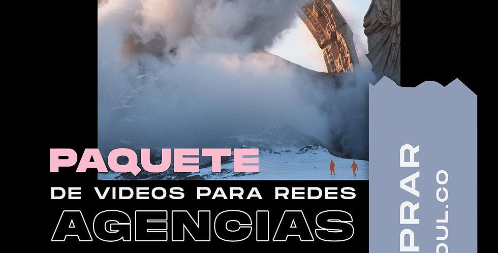 """Paquete de videos para redes """"Agencias"""""""
