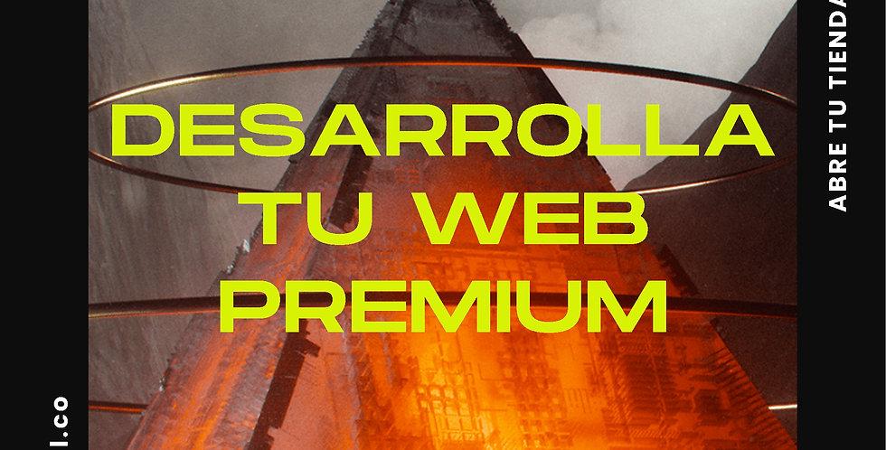 """Paquete de desarrollo web """"Premium"""""""