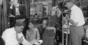 Fotos de rodaje de los años 20.