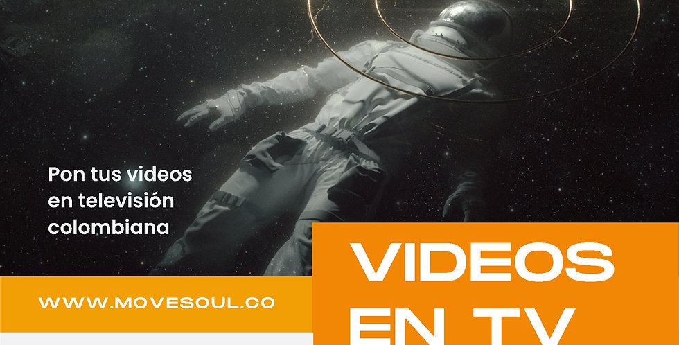 "Pauta en TV colombiana ""Nivel 1"""