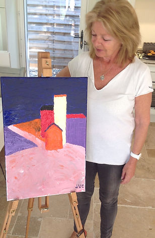 Attending Provence Painting Vacations with Wietzie