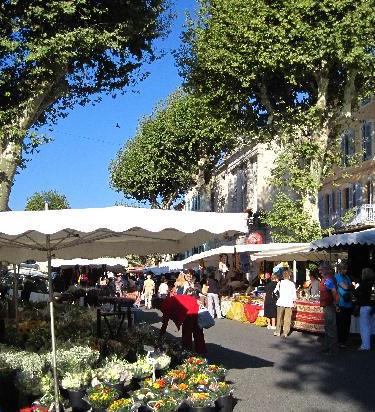 Lorgues weekly market