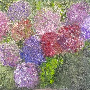 Purple Hydrangea (SOLD)