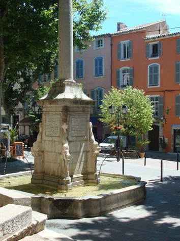 Fountain in Lorgues