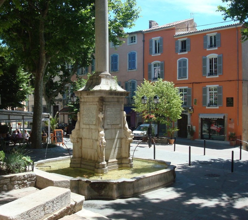 Fountain in Lorgues