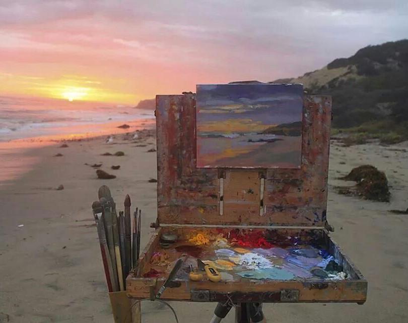 En-plein-air painting