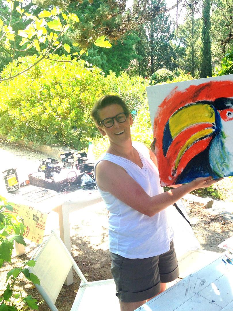 Art workshop by Wietzie