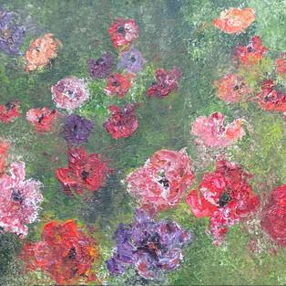 Dancing Poppies (SOLD)