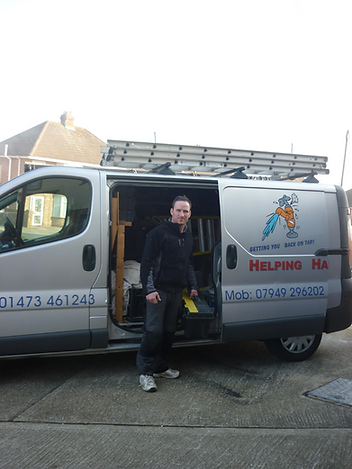 plumber in ipswich suffolk