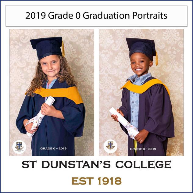 2019 Gr 0 Graduation Portraits