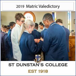 2019 Matric Valedictory