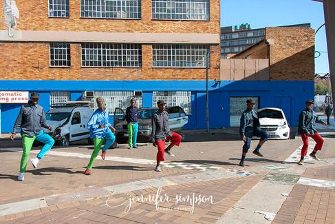 Street dancing crew