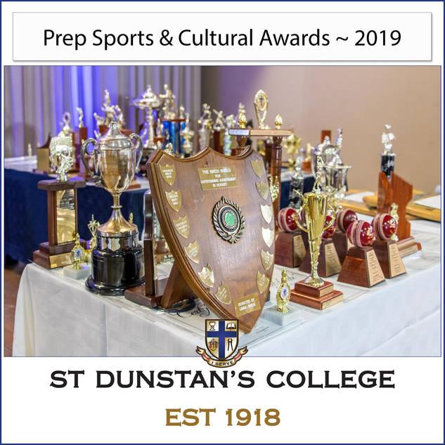 2019 Prep Sports & Cultural Awards
