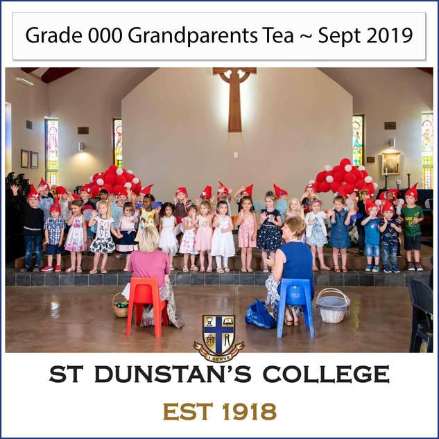 2019 Grade 000 Grandparents Tea