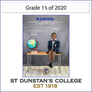 Grade 1's of 2020