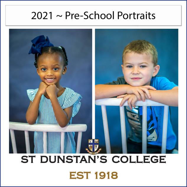 2021 Pre-School Portraits