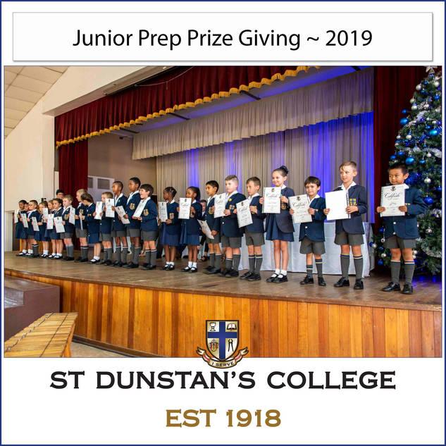 2019 Junior Prep Prizegiving