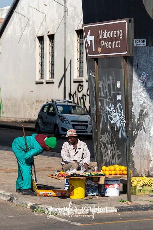 Street cleaner & vendor
