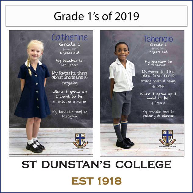 2019 Grade 1's