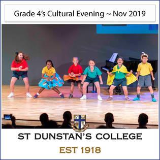 2019 Gr 4's Cultural Evening