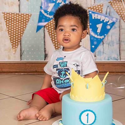 Baby Q's Cake Smash