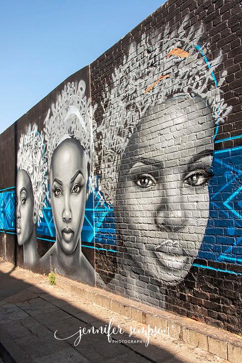 Art of graffiti artist 'Mars'