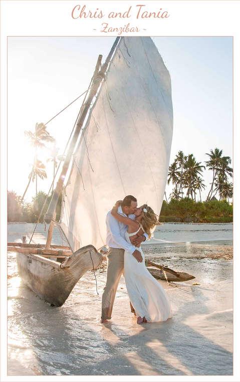 Chris & Tania ~ Zanzibar