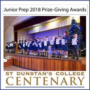 2018 Jnr Prep 2018 Prize Giving.