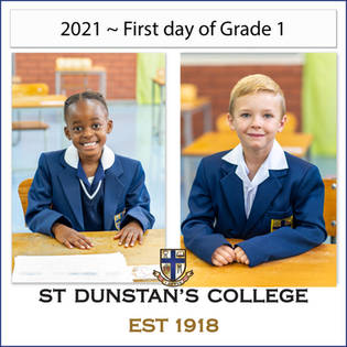 2021 ~ First day of Grade 1