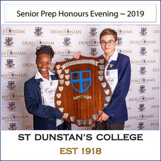 2019 Snr Prep Honours Evening