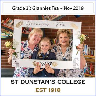 2019 Gr 3's Grannies Tea