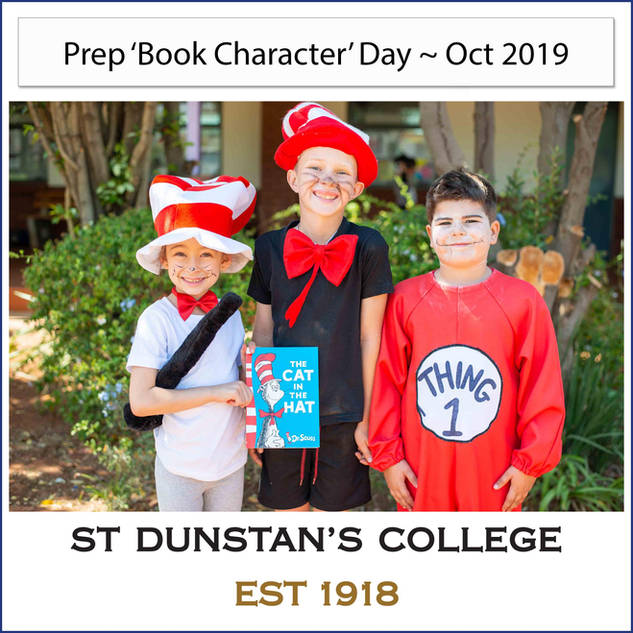 2019 Prep 'Book Character' Day