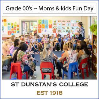 2019 Grade 00's ~ Moms & kids Fun Day