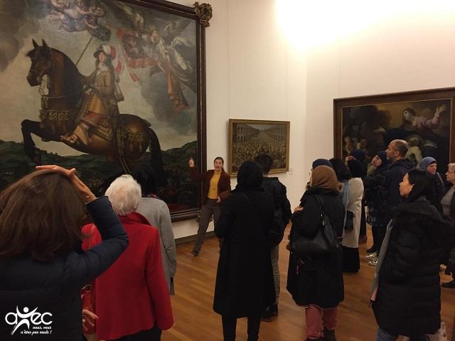 Sortie au Musée des Beaux Arts de Nancy proposée aux adhérents de l'Association d'Education Populair