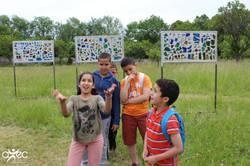 Jeunes adhérents de l'Association d'Education Populaire pour l'Egalité des Chances AVEC de Vandoeuvr