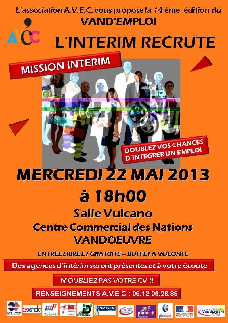 Mission Intérim-mai 2013