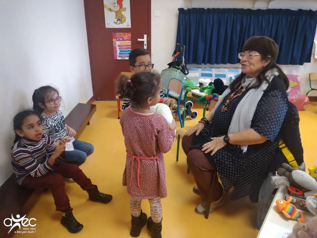 Participation de l'Association AVEC à la Journée des Droits de l'Enfant à l'Ecole Jeanne d'Arc de Va