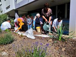 Amélioration et embellissement du cadre de vie au sein du quartier grâce au projet de l'association