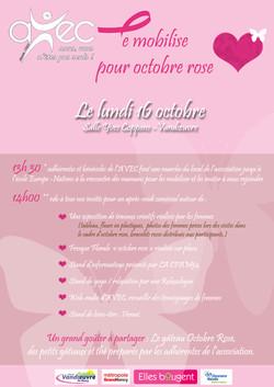 AVEC se mobilise pour Octobre Rose