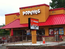 Popeye's Franchise Restaurant Renovation