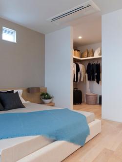 寝室のWIC