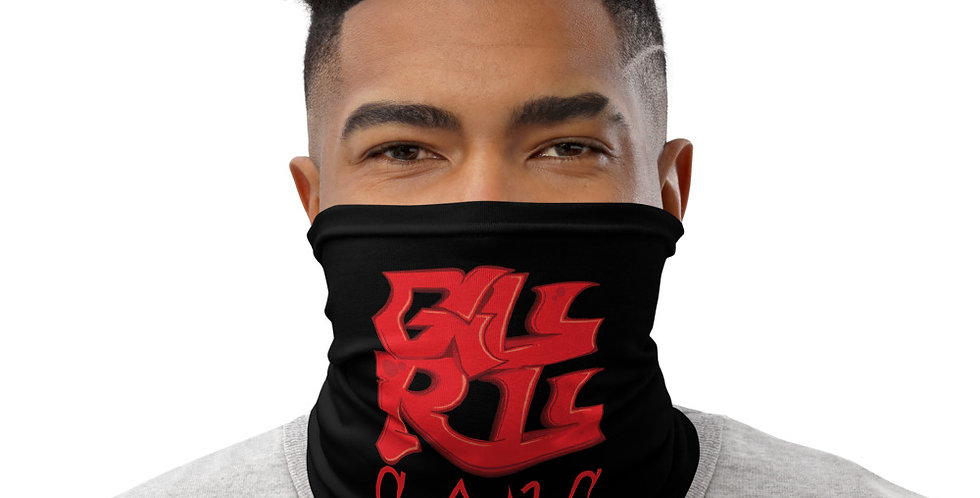 Guru Gang 4square logo Neck Gaiter