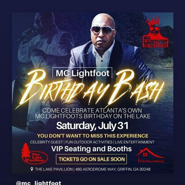 MC Lightfoot Birthday Bash