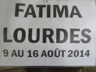 LOURDES & FATIMA TOURS For you to enjoy the Friendship & Blessings.